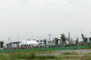 スズキ ファンRIDEフェスタ 2019・埼玉・駐車場