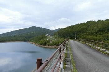 野反湖・群馬県