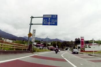 山梨県・クリスタルラインへ