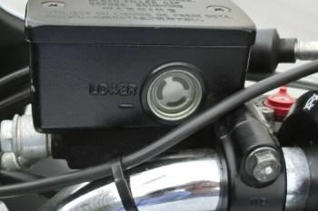バンディッド1250F・ブレーキフルード交換