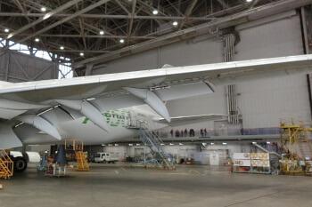 JAL工場見学