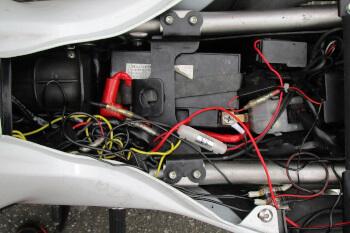 ヤマハMT-07・バッテリー・電源・配線
