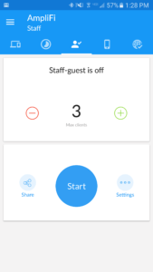 Amplifi app - Screenshot 1