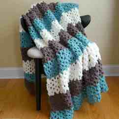 Comfy Chair And A Half Back Covers Canada 20 Awesome Crochet Blanket Patterns For Beginners - Ideal Me