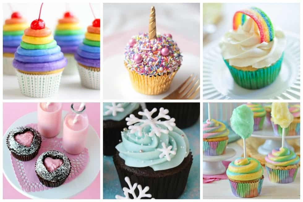 20 Easy And Fun Ideas For Decorating Cupcakes