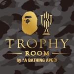 TROPHY ROOMとBAPEがコラボを発表!
