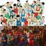 【今日の一枚】NBA新ユニフォーム集合写真はまるでスラムダンクのアングルカット