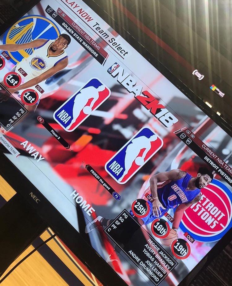 ラングストン・ギャロウェイ NBA2K18