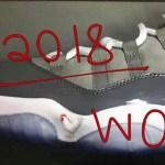 """2018年発売?エア ジョーダン11 """"クールグレー"""" ロー"""