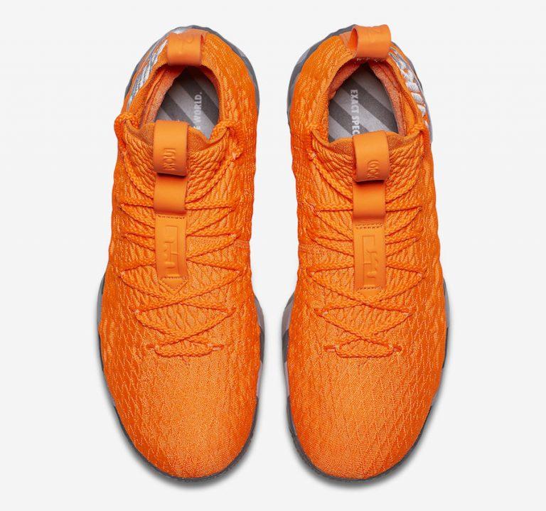 ナイキ レブロン 15 オレンジ ボックス