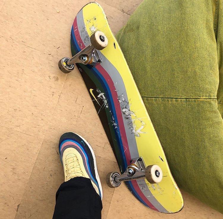 ショーン・ワザーズプーン ナイキ エア マックス 1/97 スケートボード