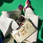 アレイリ・メイがマルチカラーのエア ジョーダン1を履いて登場!
