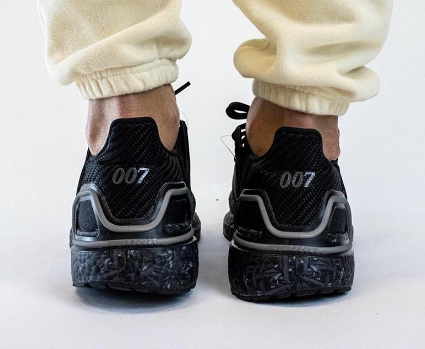 ジェームズ・ボンド 007 x アディダス ウルトラ ブースト 2020