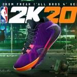 """4月11日発売!NBA 2K20 x ナイキ ズーム フリーク1  """"All Bros 4"""" GE 登場"""