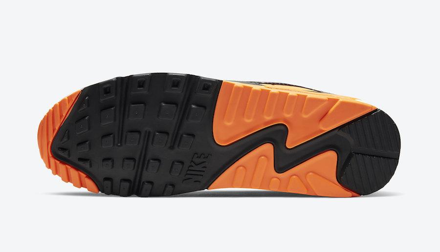 ナイキ エア マックス90 トータルオレンジカラー