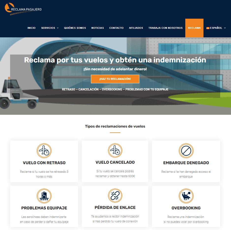 Caso de éxito ReclamaPasajero.com