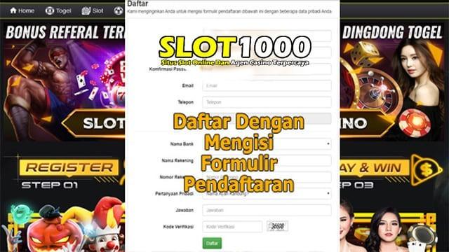 daftar situs slot1000