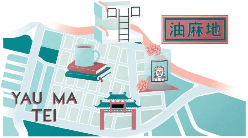 Yau Ma Tei map