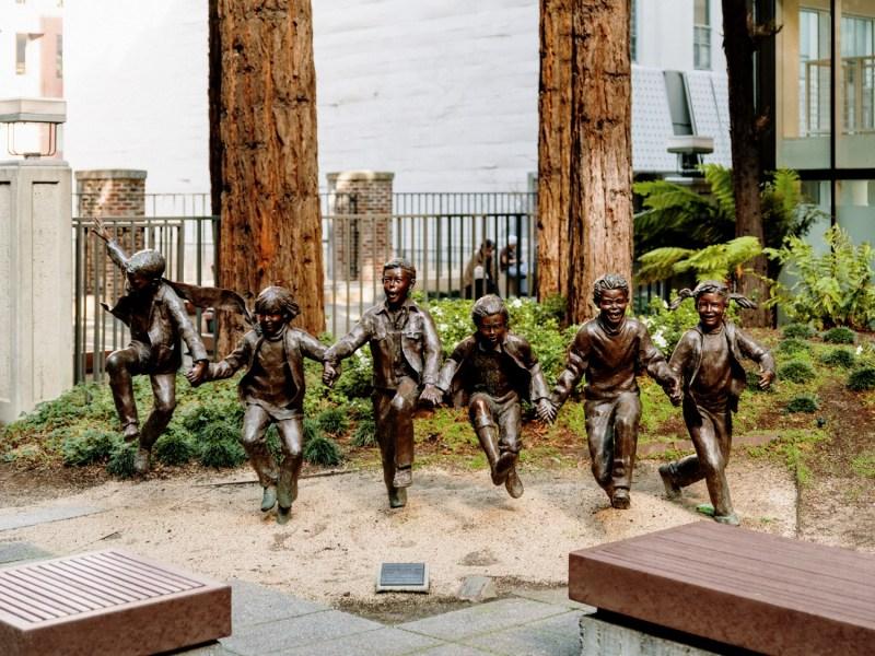 Transamerica Redwood Park statues