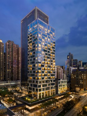 St. Regis Hong Kong, Exterior Evening