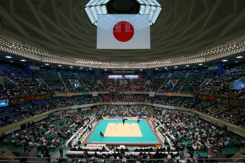 Nippon Budokan, Tokyo, Japan. 29th Apr, 2015. General view, APRIL 29, 2015 - Judo : 2015 All Japan Judo Championships at Nippon Budokan, Tokyo, Japan. © Yohei Osada/AFLO SPORT/Alamy Live News