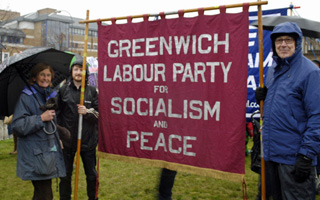 Lewisham demo, 20 November 2012