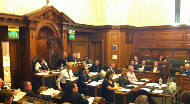 Greenwich Council meeting, 30 October