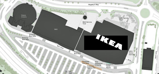 Ikea planning application