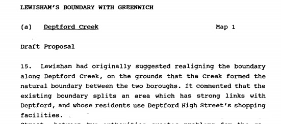 Local Government Boundary Commission Review, 1992