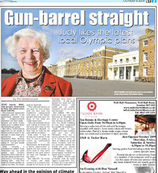 Greenwich Time, 6 October 2009