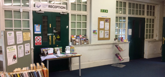 East Greenwich Library, 12 June 2015