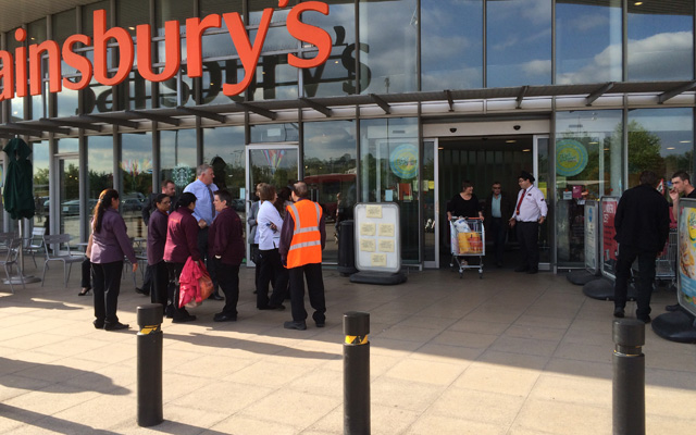 Greenwich Sainsbury's, 23 June 2015