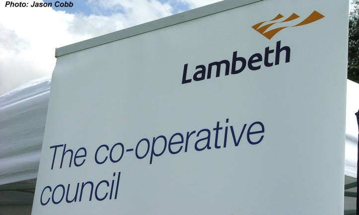 Lambeth Council banner by Jason Cobb