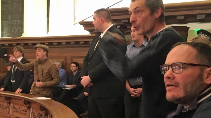 Greenwich Council meeting, 31 January 2018