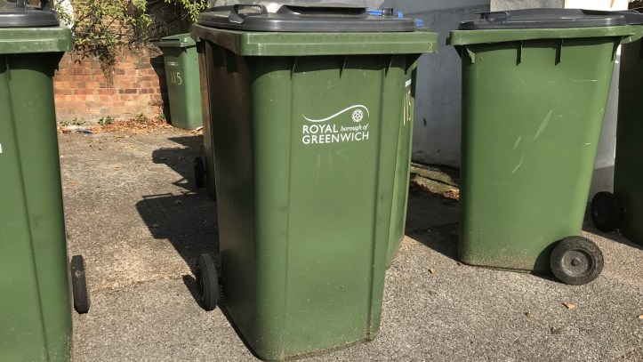 Greenwich Council bins