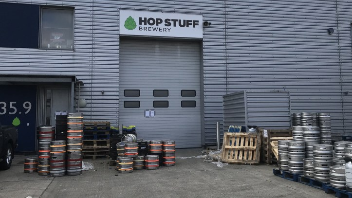 Hop Stuff brewery, Thamesmead