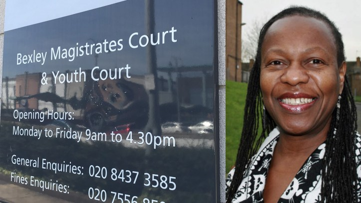 Bexley Magistrates Court and Ann Marie Cousins