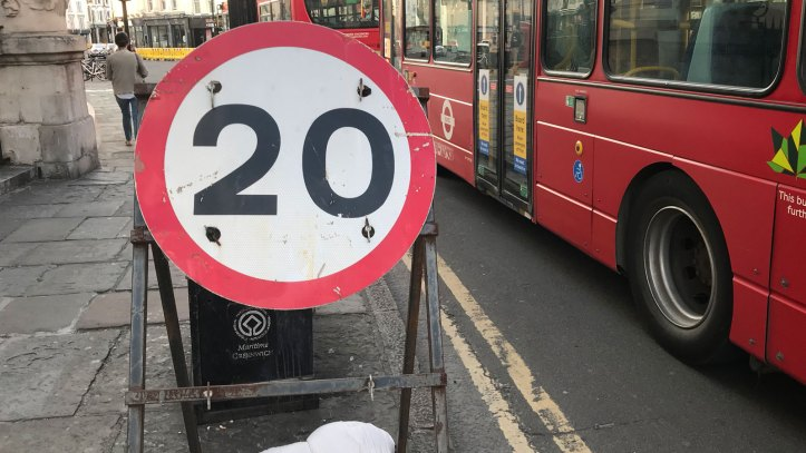 20mph on Greenwich Church Street