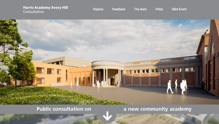 Harris Avery Hill consultation