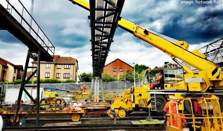 Network Rail image of work at Hither Green