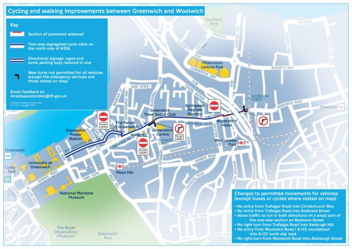 Cycleway map