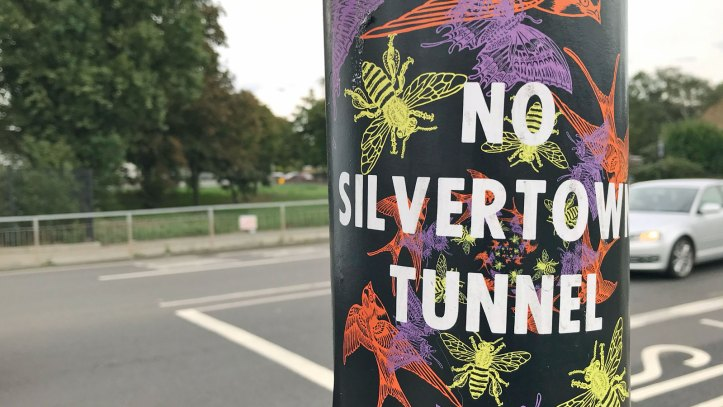 Anti-Silvertown Tunnel sticker