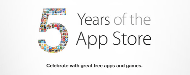 Celebrating 5 years of the App Store