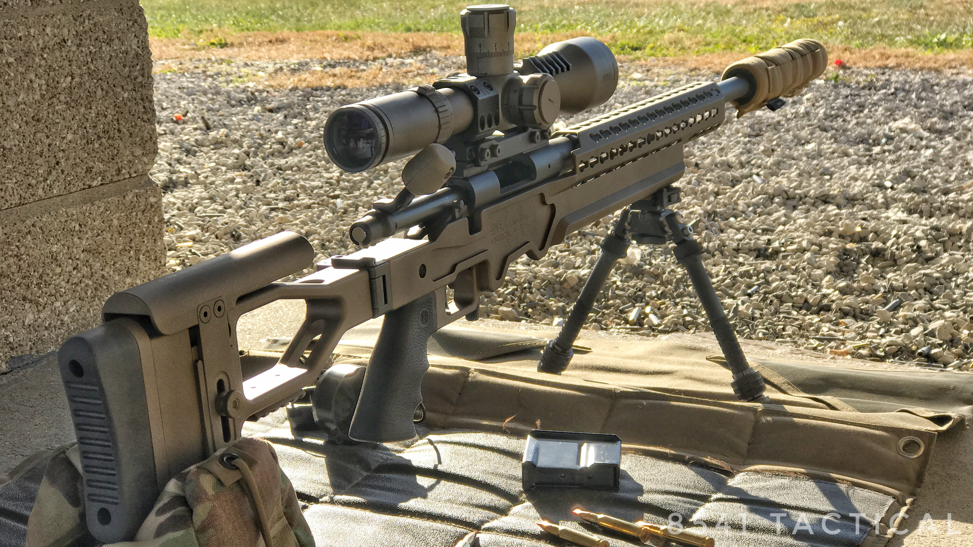 "JMS Tactical ""JTAC-Thunder"" Remington 700 Chassis Review 