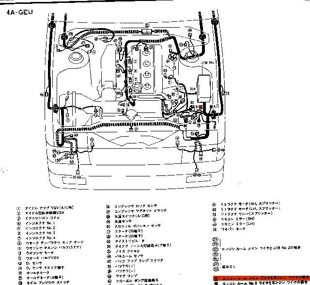 85DATA-カローラレビン 2ドアGT-APEX 【AE86】