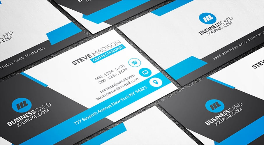 Awesome Free Business Card PSD Mockup Templates In 2019