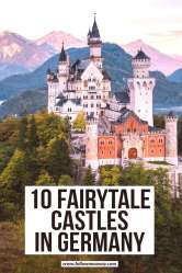 10 Stunningly Beautiful Castles In Germany You Must See Follow Me Away 10 Fairytale Castles In