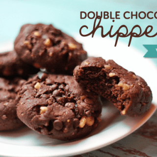 Double Chocolate Chippers (vegan, gf)