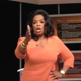 Well hello, Oprah!