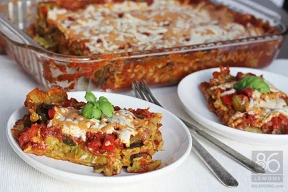 Vegan Lasagna from OSG  86lemons.com